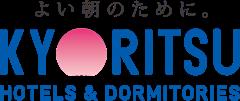 よい朝のために。KYORITSU HOTELS & DORMITORIES